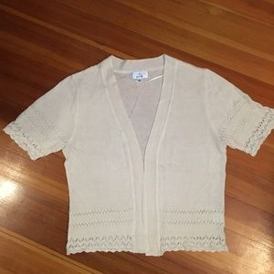 light short sleeve sweater